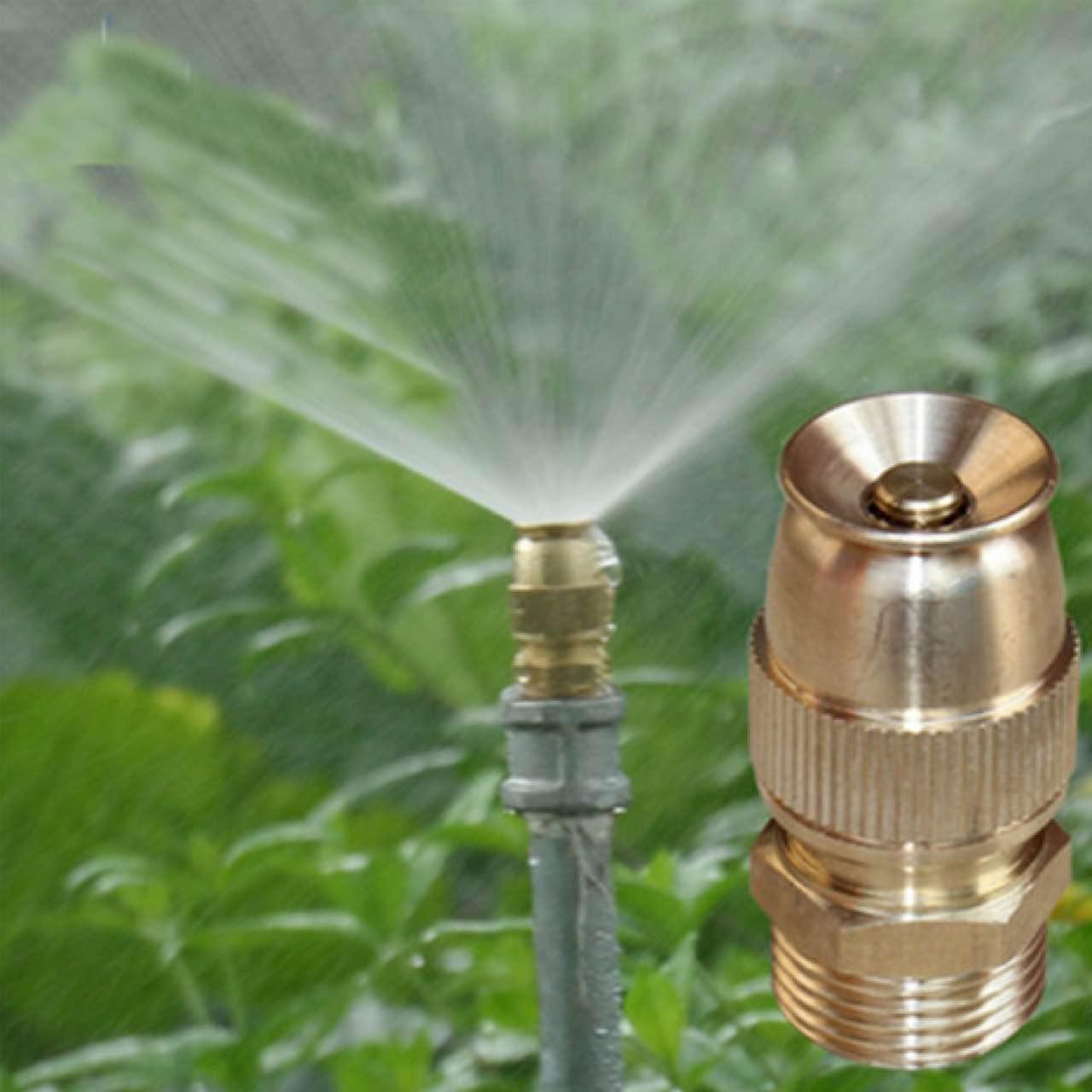 可调子弹头喷头屋顶降温喷水半雾化喷嘴园林农用自动洒水园艺除尘